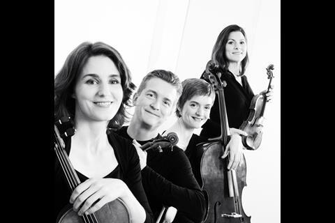 Tetzlaff Quartet, cr Alexandra Vosding